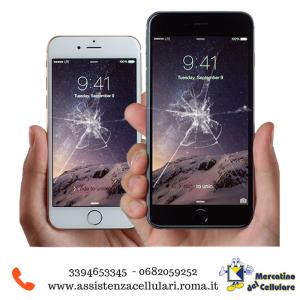 Sostituzione vetro smartphone roma